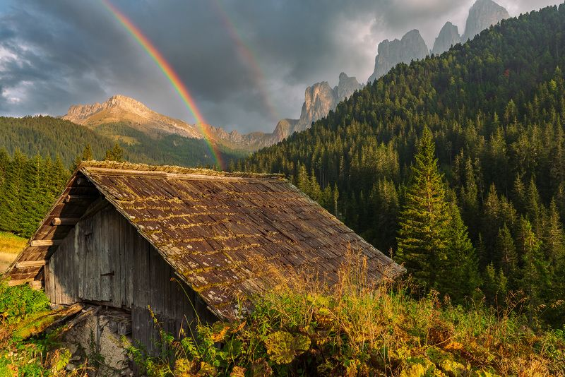 alps,autumn,background,barn wood,clouds,dolomites,forest,grass,hill,home,house,italy,landscape,meadow,mountain,nature,outdoor,rainbow,rock,rural,scenic,sky,tourism,travel,vacation,valley,view Old barnphoto preview