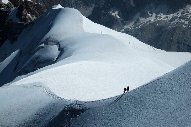 горы, Альпы, альпинизм, Франция, восхождение, путешествие, приключение, mountains, Alps, alpinism, mountaineering, France, ascend, travel, adventure Возвращение домойphoto preview