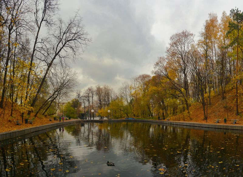Осень в нескучном садуphoto preview