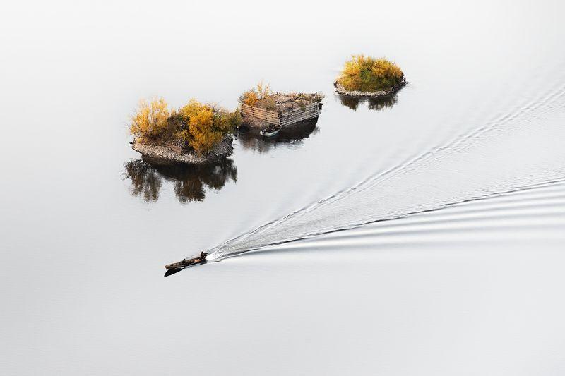 урал, вишера, ряжи, лодка, пейзаж, осень На странных берегахphoto preview