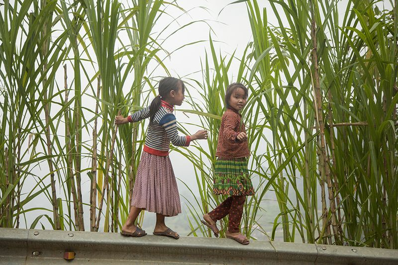 Children in Meo Vac, Vietnamphoto preview