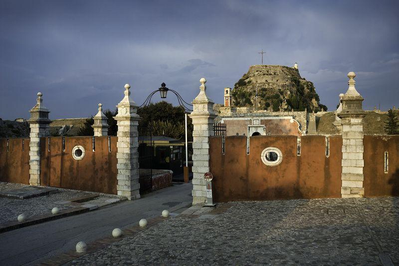 old_fortress, , kerkyra, , corfu, , greece, , sunset, kodak, slrn Старая крепостьphoto preview