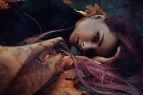 .grieving autumn.