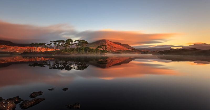 longexposure, sunrise, sunset, ireland, connemara, galway, landscapes, clouds Connemaraphoto preview