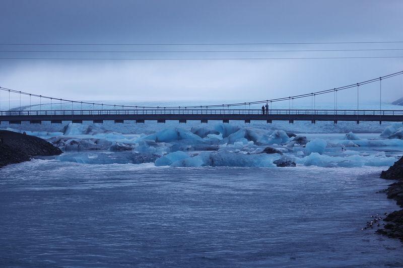 лед, зима, арктика, исландия, мост, север, ice, winter, arctic, iceland, bridge, north Ice Lagoonphoto preview