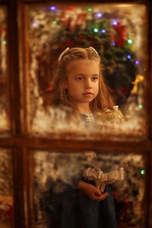 рождество окно новый год Рождественская сказкаphoto preview
