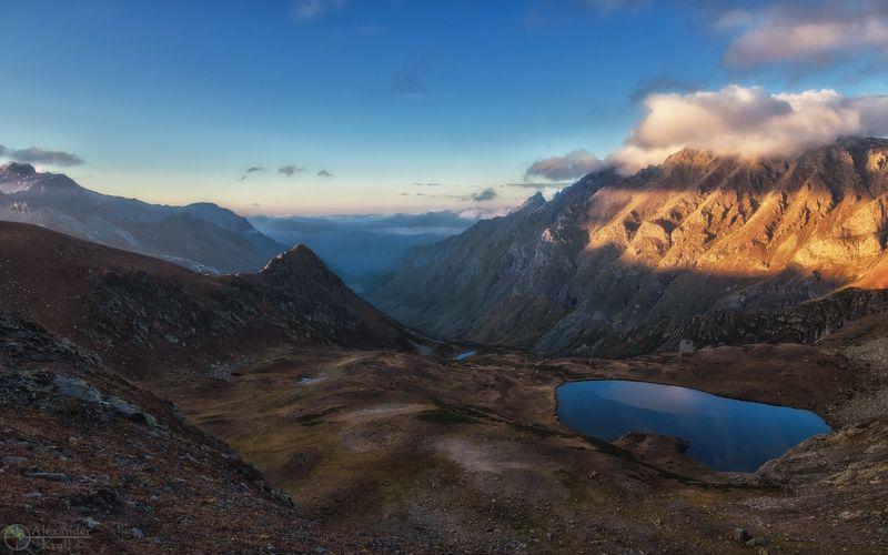 Вечер в горах…photo preview