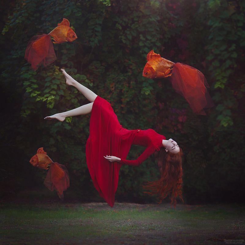 сюрреализм , левитация ...photo preview