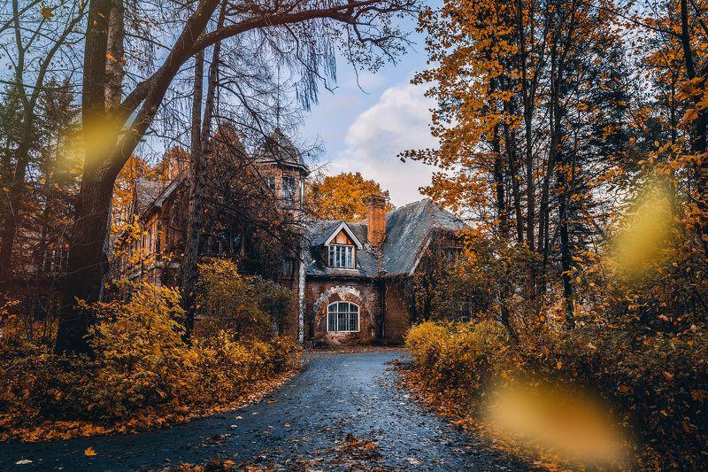 #осень #природа #город #листья #autumn #city Дача Великого Князя Бориса Владимировича Романоваphoto preview