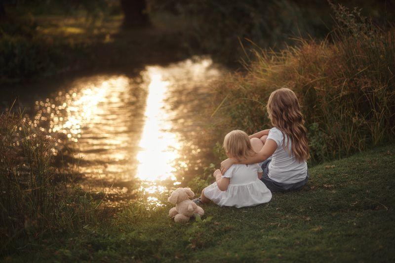 семья закат сестры ENJOY THE SILENCEphoto preview