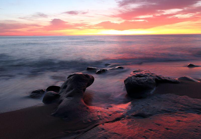 Чёрное море рассветphoto preview