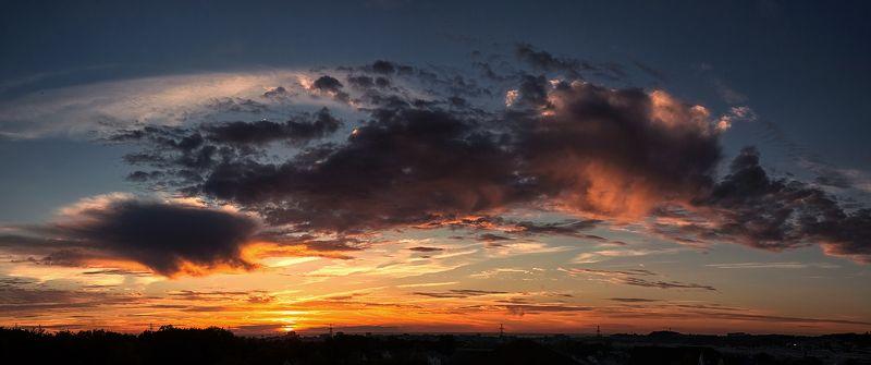 сочи, природа Закат над Черным моремphoto preview