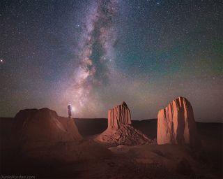 Мини долина монументов в Монголии
