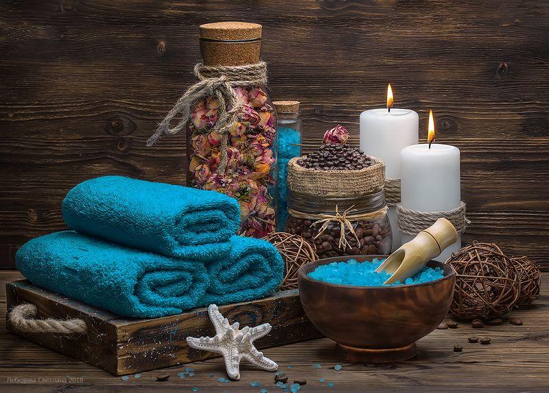 спа,морская соль,свечи,ароматерапия,аромат,кофе,сухоцветы Спаphoto preview