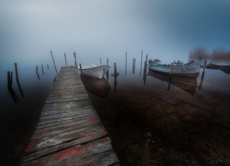 Morning fog at lakephoto preview