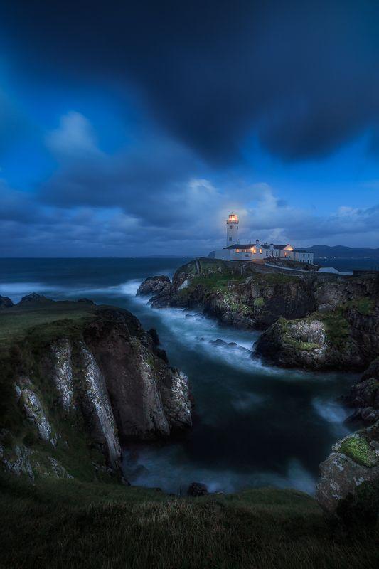 ireland, landscape,fanad head lighthouse, donegal< longexposure Fanad Head Lighthousephoto preview