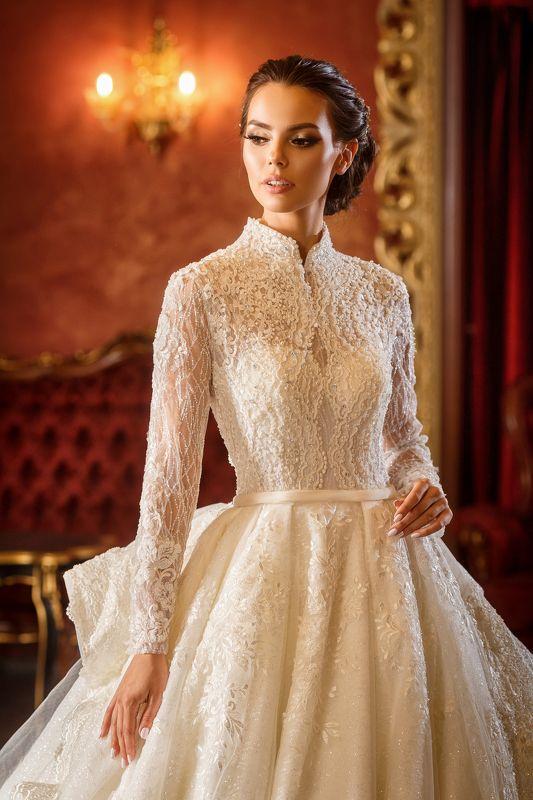 невеста, модель, портрет, ресторан, свадьба, платье, девушка, роскошь в роскошиphoto preview