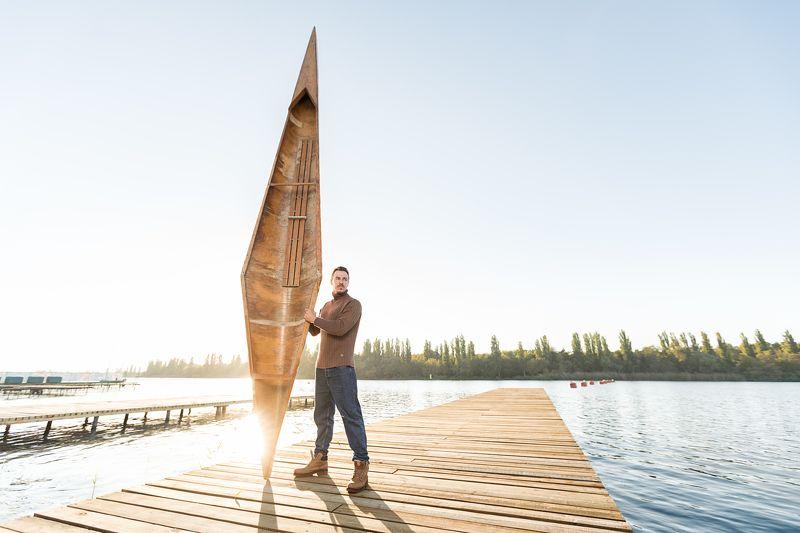 sport, canoe, old, man, portrait Canoephoto preview