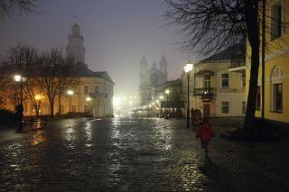 Туманный вечер 4