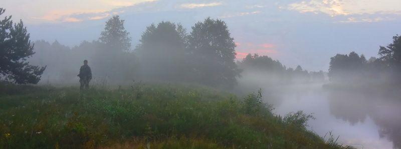неман, рассвет, туман, фотограф Не спитсяphoto preview
