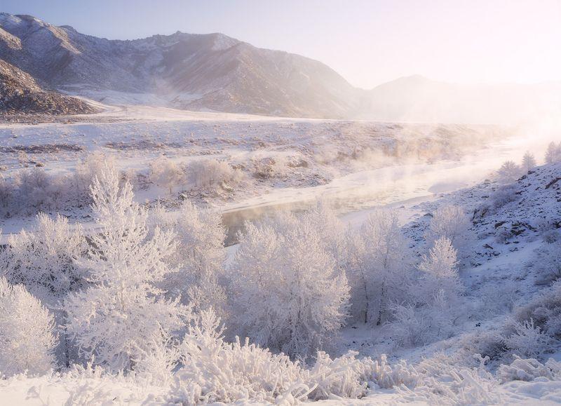 ...Свет морозного утра...photo preview