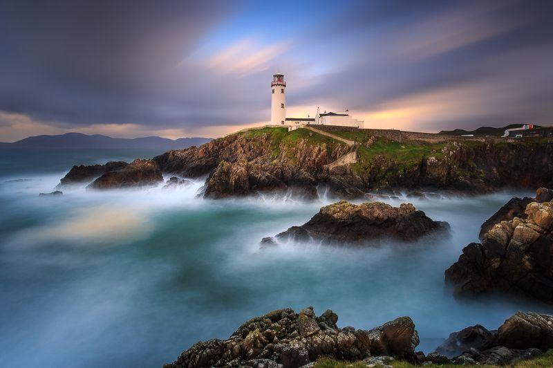 Ireland, Fanad Head Lighthouse, Galway, Donegal, sunrise, sunset, longexposure Fanad Head Lighthousephoto preview