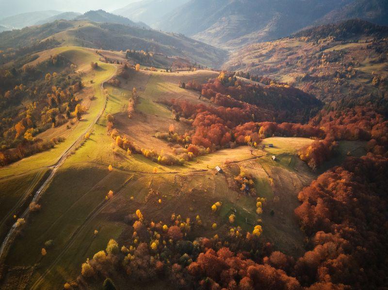 вечер, закарпатье, закат, карпаты, октябрь, осень Октябрь над Межгорьемphoto preview