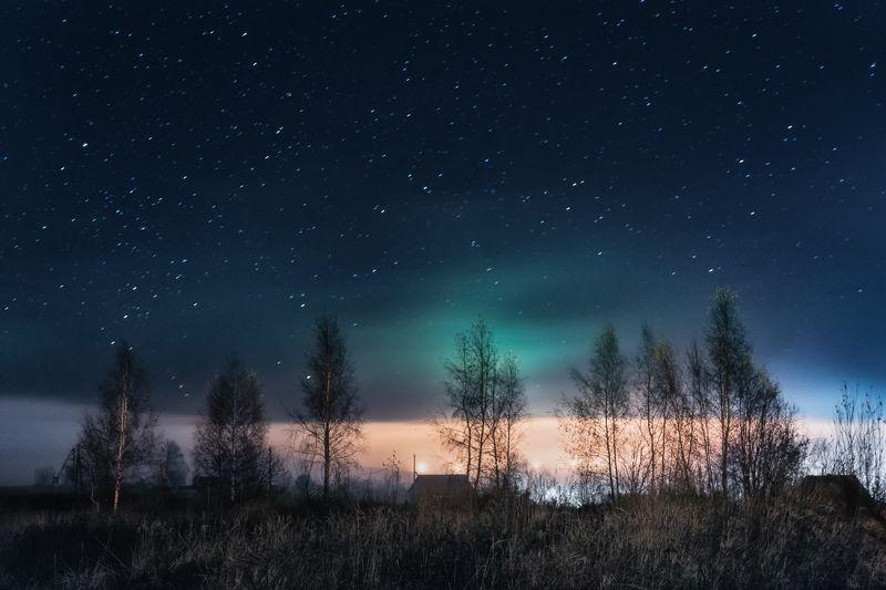 природа, пейзаж, ночь, звёзды, небо, ноябрь, nature, landscape, night, stars, sky, november Ноябрьская ночьphoto preview