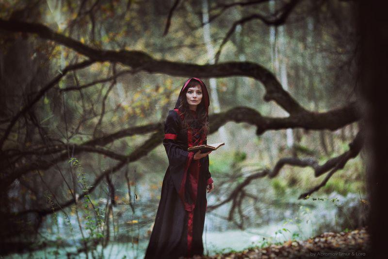 ведьма, сказка, магия Давным-давно в забытой сказке...photo preview
