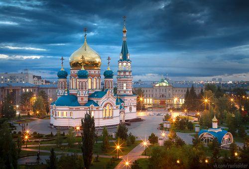 Открытка из Омска