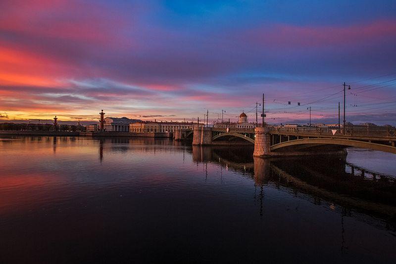 санкт-петербург, нева, исакий, благовещенский мост ***photo preview