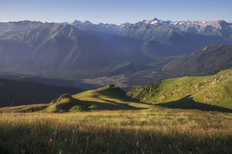 Утро в горах Архызаphoto preview