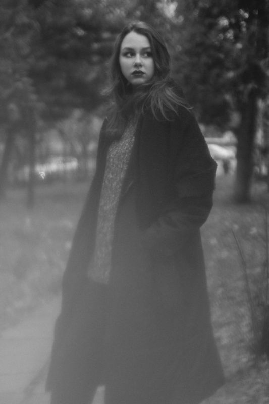 #girl #portrait #bw Марияphoto preview