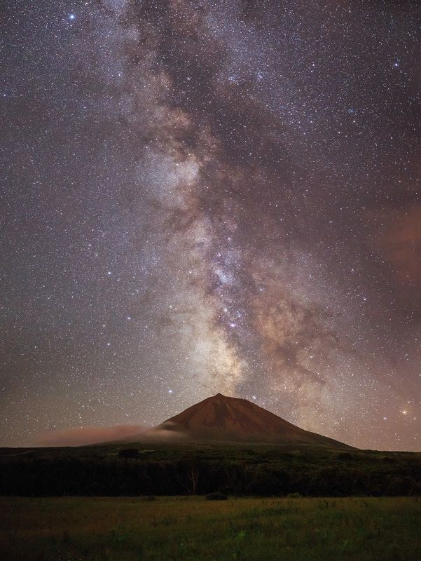 Azores Island, Pico Island, Volcano Pico, Milky Way Dream of Volcano \