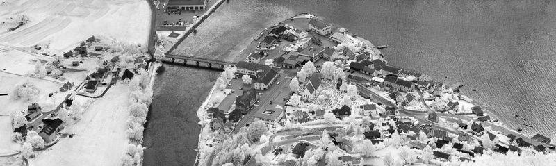 норвегия, аурланд, фото с высоты, инфракрасная фотография, панорама, ir, деревня, фьорд Норвегия. Аурланд - деревушка на берегу Аурландфьорда.photo preview