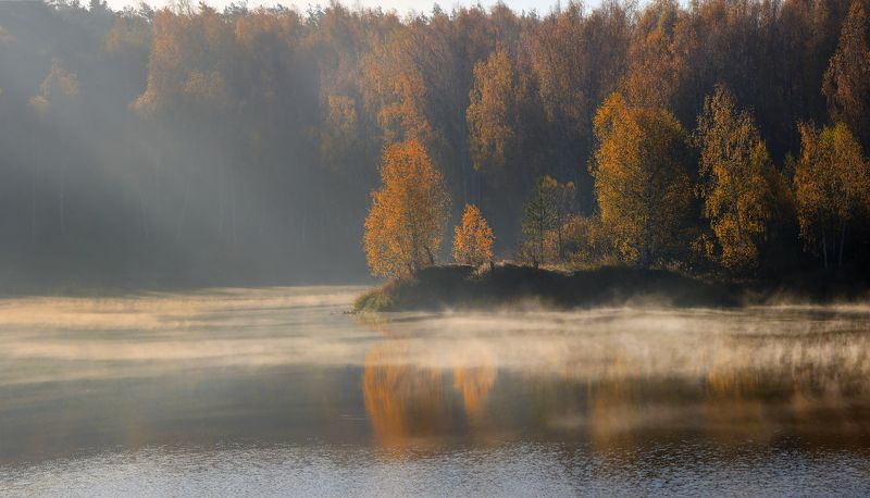 шатура Осеннее утро.photo preview