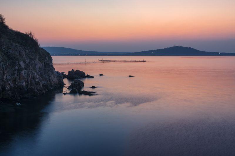 море_черное закат ветер легкий скалы горы вода Скоро ночьphoto preview