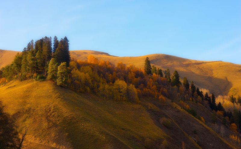вечер На бархатных склонах осеньphoto preview
