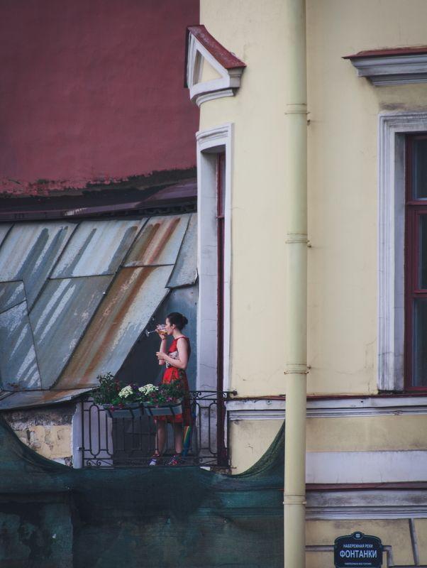 девушка, спб, женщина, человек, вино, город I\'m from the cultural capitalphoto preview