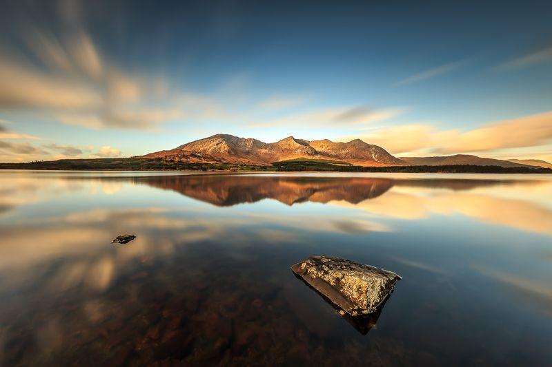 longexposure, Ireland, Galway, sunrise, sunset, clouds, lake, Connemara Connemaraphoto preview