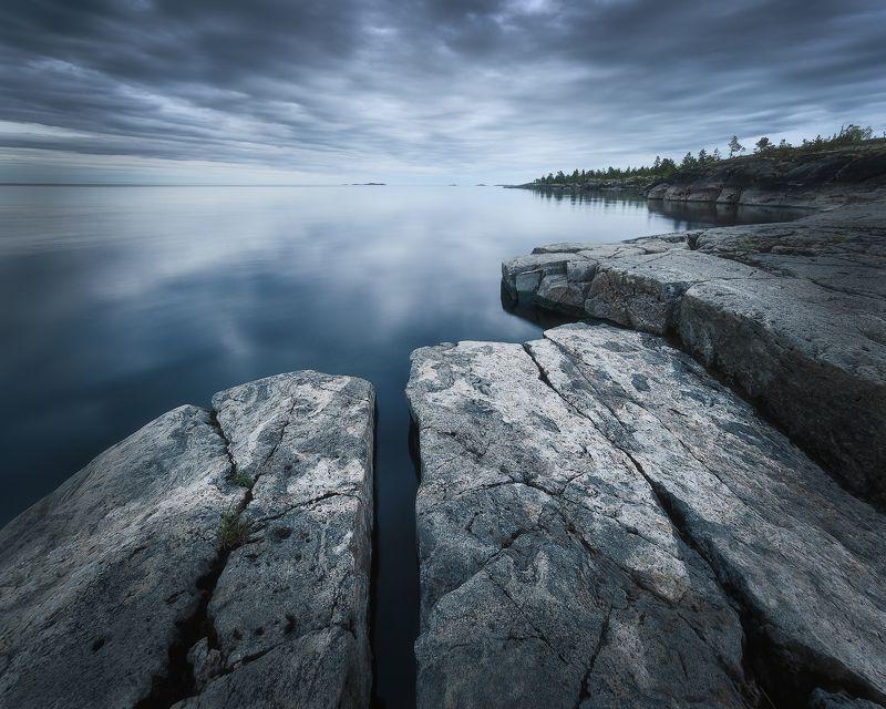 ладожское озеро, ладожские шхеры, природа, пейзаж, ладога Утро на ладогеphoto preview