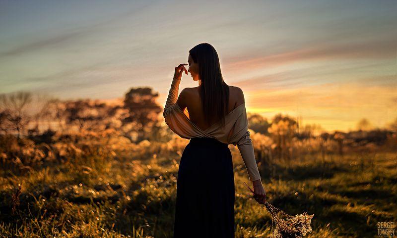 портрет, лето, модель Закатphoto preview