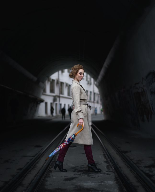 портрет, девушка, москва Кристинаphoto preview