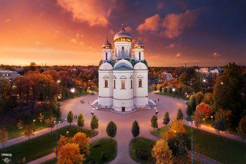 Екатерининский собор в Пушкине