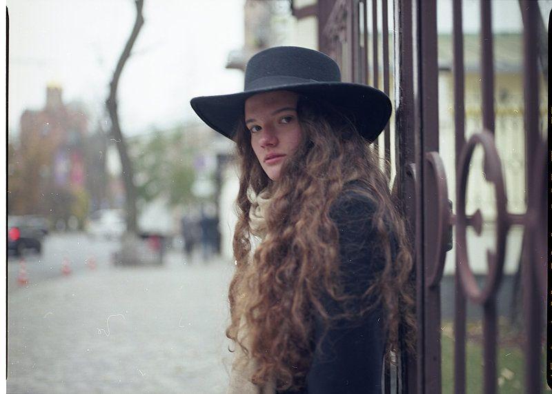 девушка, портрет, взгляд, пленка Marinaphoto preview