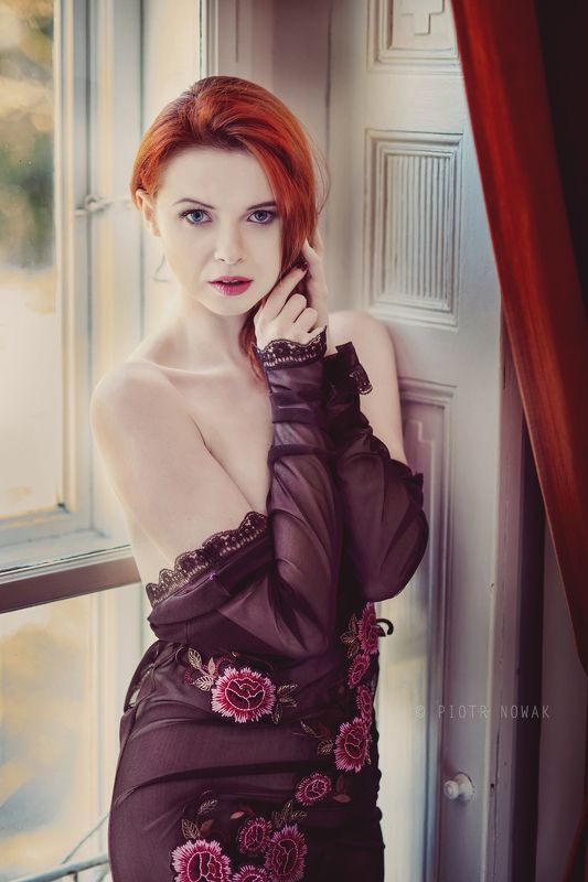 gorczes, framesoflove, piotrnowak, poland, polishmodel, Red hair modelphoto preview