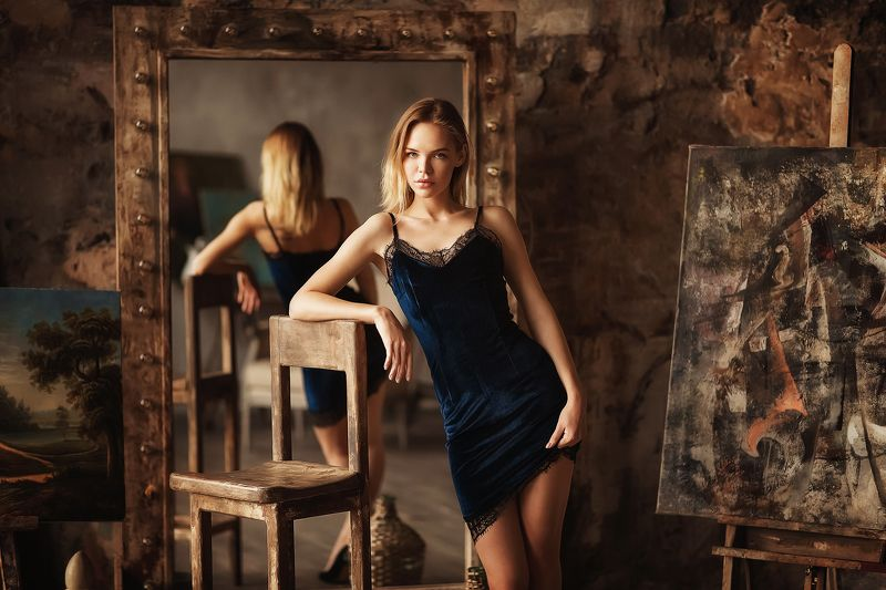 Модель, портрет, model, portait Настяphoto preview