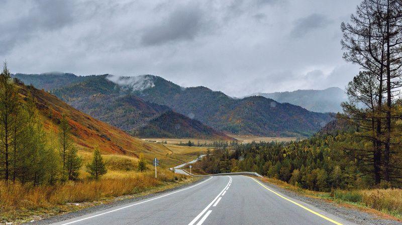 пейзаж, горы, дорога, Чуйский тракт  Красоты  Чуйского  тракта photo preview