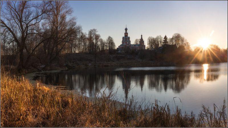 россия, московская обл, софрино Вечер в Софриноphoto preview