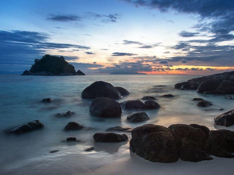 тайланд, туратао, ко липе, липе, толмачев дмитрий, море, андоманское море, остров, закат, рассвет, пляж утром на пляже...photo preview